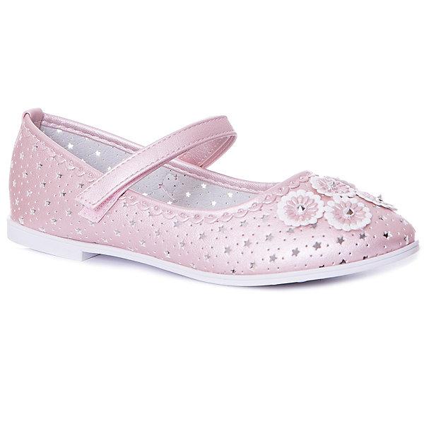 Купить Туфли Vitacci для девочки, Китай, розовый, 30, 35, 34, 33, 32, 31, Женский