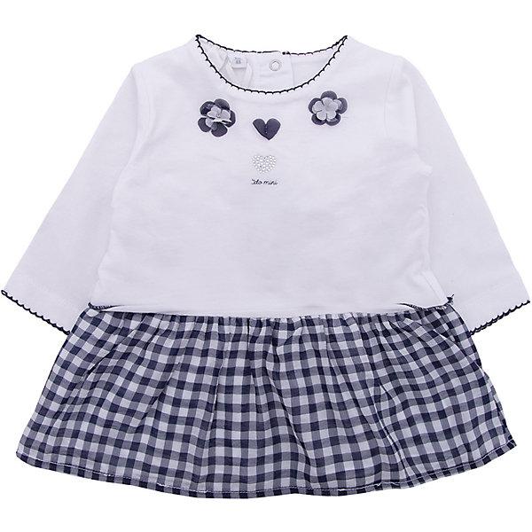 Платье iDO для девочкиПлатья<br>Характеристики товара:<br><br>• цвет: голубой<br>• состав ткани: 100% хлопок<br>• сезон: лето<br>• застежка: кнопки<br>• длинные рукава<br>• страна бренда: Италия<br><br>Удобное детское платье дополнено застежками-кнопками сзади. Это платье для ребенка разработано итальянскими дизайнерами популярного бренда iDO, который выпускает модные и удобные вещи для детей. Платье для девочки сделано из мягкого дышащего натурального хлопка.<br><br>Платье iDO (АйДу) для девочки можно купить в нашем интернет-магазине.<br>Ширина мм: 236; Глубина мм: 16; Высота мм: 184; Вес г: 177; Цвет: голубой; Возраст от месяцев: 3; Возраст до месяцев: 6; Пол: Женский; Возраст: Детский; Размер: 68,86,80,74; SKU: 7587851;