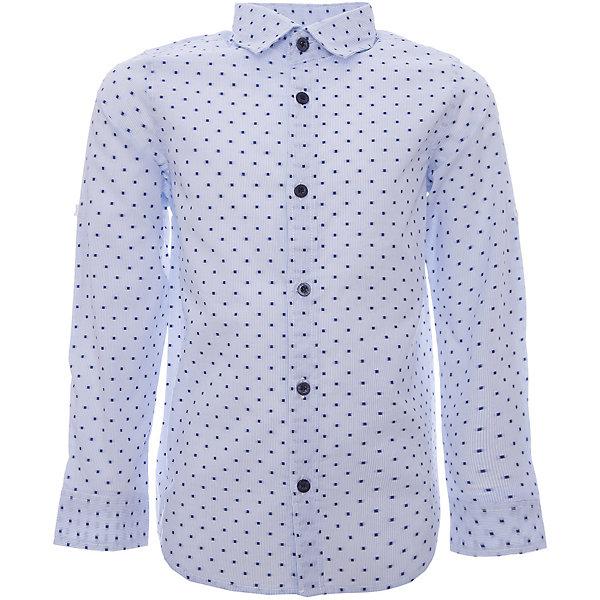 Рубашка iDO для мальчикаБлузки и рубашки<br>Рубашка iDO для мальчика<br>Рубашка для мальчика классического кроя, из 100% хлопка. Рукав можно подвернуть и пристегнуть на пуговицу.<br><br>Состав: <br>100% хлопок<br>Ширина мм: 174; Глубина мм: 10; Высота мм: 169; Вес г: 157; Цвет: голубой; Возраст от месяцев: 18; Возраст до месяцев: 24; Пол: Мужской; Возраст: Детский; Размер: 92,104,98,122,116,110; SKU: 7587959;