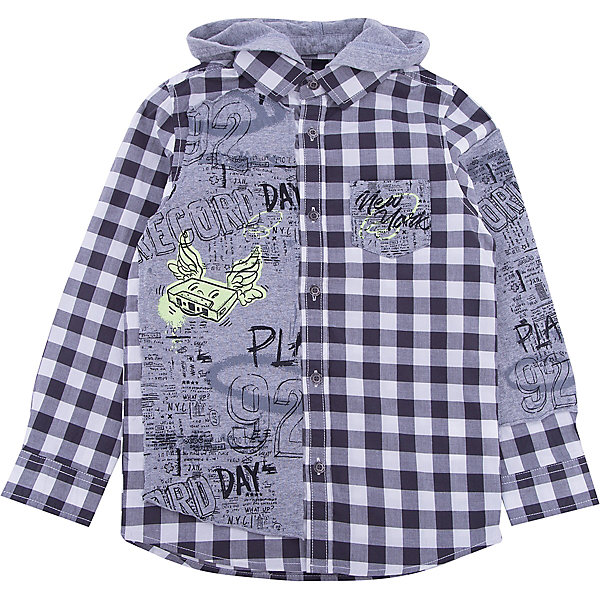 iDO Рубашка iDO для мальчика рубашка в клетку rip curl faded check shirt indian teal