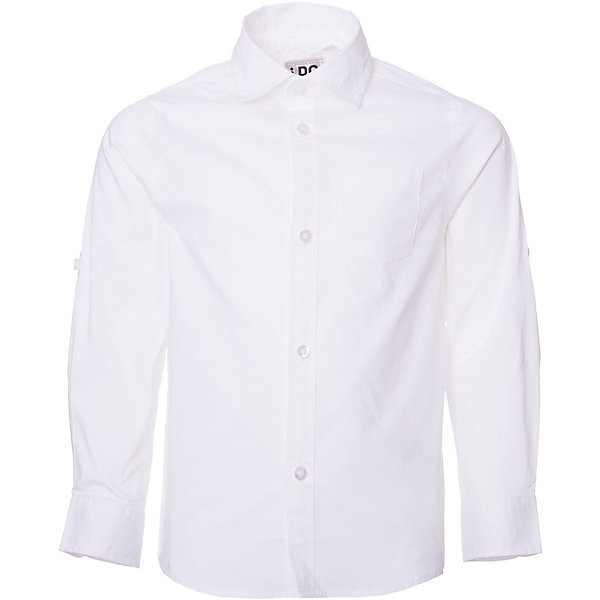 Рубашка iDO для мальчикаБлузки и рубашки<br>Характеристики товара:<br><br>• цвет: белый<br>• состав ткани: 63% хлопок, 37% полиэстер<br>• сезон: круглый год<br>• особенности модели: нарядная<br>• застежка: пуговицы<br>• длинные рукава<br>• страна бренда: Италия<br><br>Удобная классическая рубашка для мальчика сшита из дышащего материала, который отлично подходит детям. Такая детская рубашка от известного бренда iDO из Италии обеспечит ребенку комфорт. Рубашка для детей отличается классическим кроем и высоким качеством пошива.<br><br>Рубашку iDO (АйДу) для мальчика можно купить в нашем интернет-магазине.
