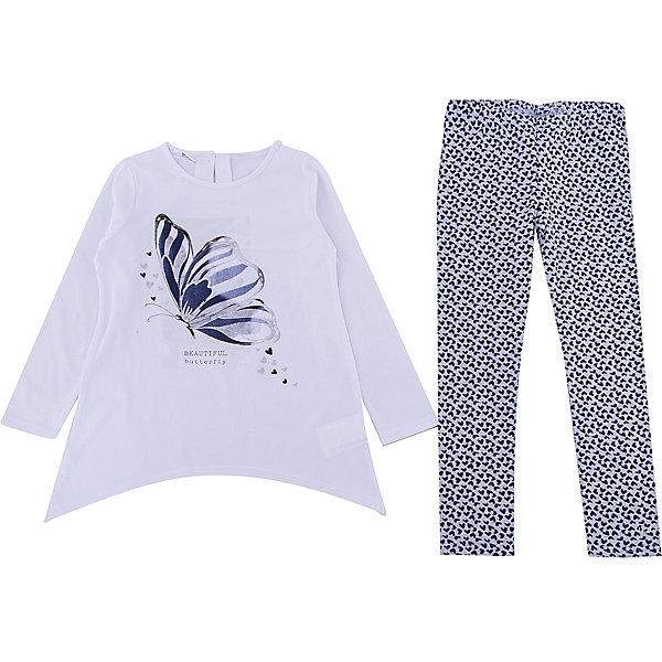 Комплект: футболка с длинным рукавом, леггинсы iDO для девочкиКомплекты<br>Комплект: футболка с длинным рукавом, леггинсы iDO для девочки<br>Комплект из кофты и леггинсов из тонкого трикотажа<br><br>Состав: <br>100% хлопок - 95% хлопок 5% др.вол.<br>Ширина мм: 230; Глубина мм: 40; Высота мм: 220; Вес г: 250; Цвет: голубой; Возраст от месяцев: 18; Возраст до месяцев: 24; Пол: Женский; Возраст: Детский; Размер: 92,122,116,110,104,98; SKU: 7588397;