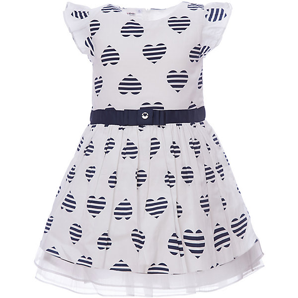 Платье iDO для девочкиПлатья и сарафаны<br>Характеристики товара:<br><br>• цвет: голубой<br>• состав ткани: 100% хлопок<br>• сезон: лето<br>• застежка: молния<br>• без рукавов<br>• страна бренда: Италия<br><br>Принтованное детское платье декорировано широким поясом. Это платье для ребенка разработано итальянскими дизайнерами популярного бренда iDO, который выпускает модные и удобные вещи для детей. Платье для девочки сделано преимущественно из мягкого дышащего натурального хлопка.<br><br>Платье iDO (АйДу) для девочки можно купить в нашем интернет-магазине.<br>Ширина мм: 236; Глубина мм: 16; Высота мм: 184; Вес г: 177; Цвет: голубой; Возраст от месяцев: 24; Возраст до месяцев: 36; Пол: Женский; Возраст: Детский; Размер: 98,122,116,110,104; SKU: 7588454;