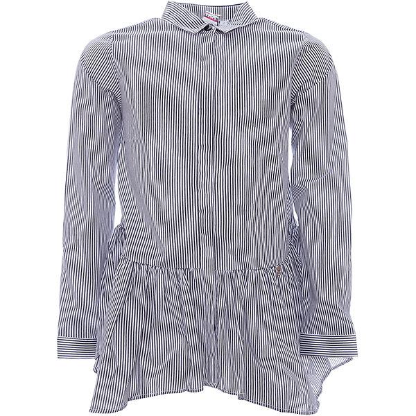Рубашка iDO для девочкиОдежда<br>Характеристики товара:<br><br>• цвет: черный<br>• состав ткани: 95% хлопок, 5% синтетическое волокно<br>• сезон: демисезон<br>• длинные рукава<br>• страна бренда: Италия<br><br>Оригинальный детский лонгслив от бренда iDO из Италии - отличный вариант базовой вещи. Удобный лонгслив для девочки сшит из дышащего натурального хлопкового материала, который отлично подходит для детей. Лонгслив для детей отличается интересным принтом. <br><br>Лонгслив iDO (АйДу) для девочки можно купить в нашем интернет-магазине.<br>Ширина мм: 199; Глубина мм: 10; Высота мм: 161; Вес г: 151; Цвет: черный; Возраст от месяцев: 84; Возраст до месяцев: 96; Пол: Женский; Возраст: Детский; Размер: 128,170,164,152,140; SKU: 7589183;