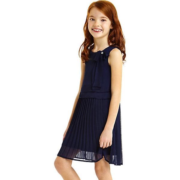 Платье iDO для девочкиОдежда<br>Характеристики товара:<br><br>• цвет: синий<br>• состав ткани верха: 100% полиэстер<br>• подкладка: 95% хлопок, 5% синтетическое волокно<br>• сезон: круглый год<br>• особенности модели: нарядная<br>• застежка: пуговица<br>• без рукавов<br>• страна бренда: Италия<br><br>Синее детское платье смотрится эффектно благодаря многослойности. Это платье для ребенка разработано итальянскими дизайнерами популярного бренда iDO, который выпускает модные и удобные вещи для детей. Платье для девочки сделано из качественного материала.<br><br>Платье iDO (АйДу) для девочки можно купить в нашем интернет-магазине.<br>Ширина мм: 236; Глубина мм: 16; Высота мм: 184; Вес г: 177; Цвет: синий; Возраст от месяцев: 72; Возраст до месяцев: 84; Пол: Женский; Возраст: Детский; Размер: 122,164,152,140,128; SKU: 7589490;