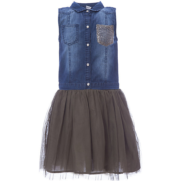 Платье iDO для девочкиПлатья и сарафаны<br>Характеристики товара:<br><br>• цвет: зеленый<br>• состав ткани: 100% хлопок<br>• сезон: лето<br>• застежка: пуговицы<br>• без рукавов<br>• страна бренда: Италия<br><br>Это комбинированное детское платье состоит из джинсового верха и яркого подола. Это платье для ребенка разработано итальянскими дизайнерами популярного бренда iDO, который выпускает модные и удобные вещи для детей. Платье для девочки сделано преимущественно из мягкого дышащего натурального хлопка.<br><br>Платье iDO (АйДу) для девочки можно купить в нашем интернет-магазине.<br>Ширина мм: 236; Глубина мм: 16; Высота мм: 184; Вес г: 177; Цвет: зеленый; Возраст от месяцев: 108; Возраст до месяцев: 120; Пол: Женский; Возраст: Детский; Размер: 140,170,164,152,128; SKU: 7589502;