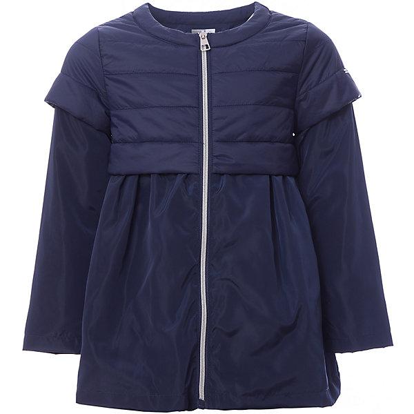 Куртка iDO для девочкиВерхняя одежда<br>Характеристики товара:<br><br>• цвет: синий<br>• состав ткани: 100% полиэстер<br>• подкладка: 100% полиэстер<br>• утеплитель: нет<br>• сезон: демисезон<br>• особенности модели: без капюшона<br>• застежка: молния<br>• страна бренда: Италия<br><br>Синяя детская куртка сделана из качественного материала. Такая куртка для ребенка - от популярного европейского бренда iDO, поэтому она комфортная и стильная. Куртка для девочки поможет создать удобный и модный наряд в прохладную погоду.<br><br>Куртку iDO (АйДу) для девочки можно купить в нашем интернет-магазине.<br>Ширина мм: 356; Глубина мм: 10; Высота мм: 245; Вес г: 519; Цвет: синий; Возраст от месяцев: 84; Возраст до месяцев: 96; Пол: Женский; Возраст: Детский; Размер: 128,170,164,152,140; SKU: 7589538;