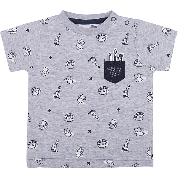 Футболка iDO для мальчикаФутболки, поло и топы<br>Характеристики товара:<br><br>• цвет: серый<br>• состав ткани: 95% хлопок, 5% синтетическое волокно<br>• сезон: лето<br>• короткие рукава<br>• страна бренда: Италия<br><br>Удобная футболка с принтом для мальчика сделана из дышащего натурального хлопка, гипоаллергенного и мягкого. Хлопковая детская футболка отличается оригинальной отделкой. Эта футболка для ребенка - от известного итальянского бренда iDO, который известен высоким качеством и европейским стилем выпускаемой одежды для детей. <br><br>Футболку iDO (АйДу) для мальчика можно купить в нашем интернет-магазине.<br>Ширина мм: 199; Глубина мм: 10; Высота мм: 161; Вес г: 151; Цвет: серый; Возраст от месяцев: 3; Возраст до месяцев: 6; Пол: Мужской; Возраст: Детский; Размер: 68,86,80,74; SKU: 7589588;