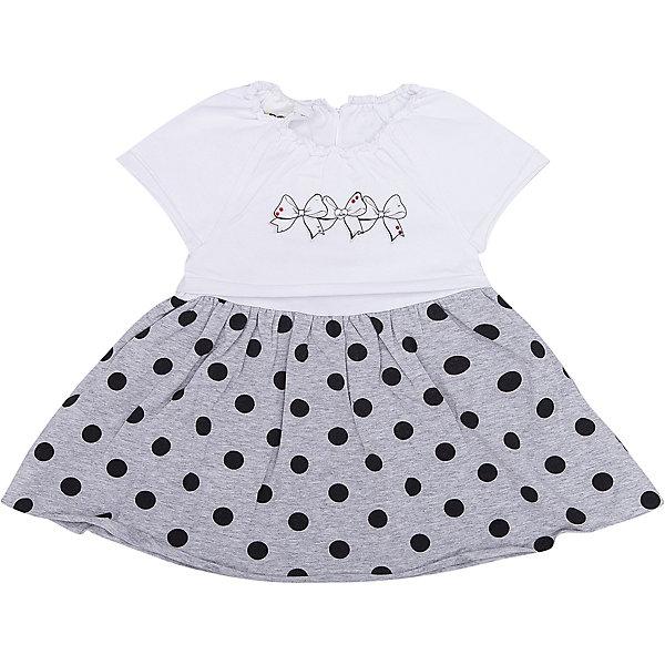Платье iDO для девочкиПлатья и сарафаны<br>Характеристики товара:<br><br>• цвет: серый<br>• состав ткани верха: 100% хлопок<br>• сезон: лето<br>• короткие рукава<br>• страна бренда: Италия<br><br>Платье для девочки сделано из мягкого дышащего натурального хлопка. Это детское платье - удобное и модное. Это платье для ребенка разработано специалистами бренда iDO, который выпускает стильные и качественные вещи для детей. <br><br>Платье iDO (АйДу) для девочки можно купить в нашем интернет-магазине.<br>Ширина мм: 236; Глубина мм: 16; Высота мм: 184; Вес г: 177; Цвет: серый; Возраст от месяцев: 3; Возраст до месяцев: 6; Пол: Женский; Возраст: Детский; Размер: 68,86,80,74; SKU: 7589624;