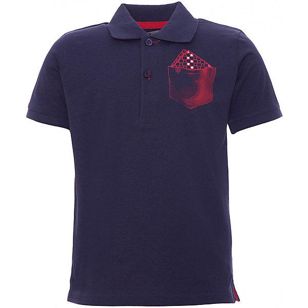 Футболка-поло iDO для мальчикаФутболки, поло и топы<br>Характеристики товара:<br><br>• цвет: синий<br>• состав ткани: 100% хлопок<br>• сезон: лето<br>• короткие рукава<br>• страна бренда: Италия<br><br>Оригинальная футболка-поло для мальчика поможет создать удобный и модный наряд. Эта хлопковая детская футболка-поло с коротким рукавом отличается оригинальным принтом. Эта футболка-поло для ребенка - от известного итальянского бренда iDO, который известен высоким качеством и европейским стилем выпускаемой одежды для детей. <br><br>Футболку-поло iDO (АйДу) для мальчика можно купить в нашем интернет-магазине.<br>Ширина мм: 199; Глубина мм: 10; Высота мм: 161; Вес г: 151; Цвет: темно-синий; Возраст от месяцев: 24; Возраст до месяцев: 36; Пол: Мужской; Возраст: Детский; Размер: 98,122,116,110,104; SKU: 7589661;