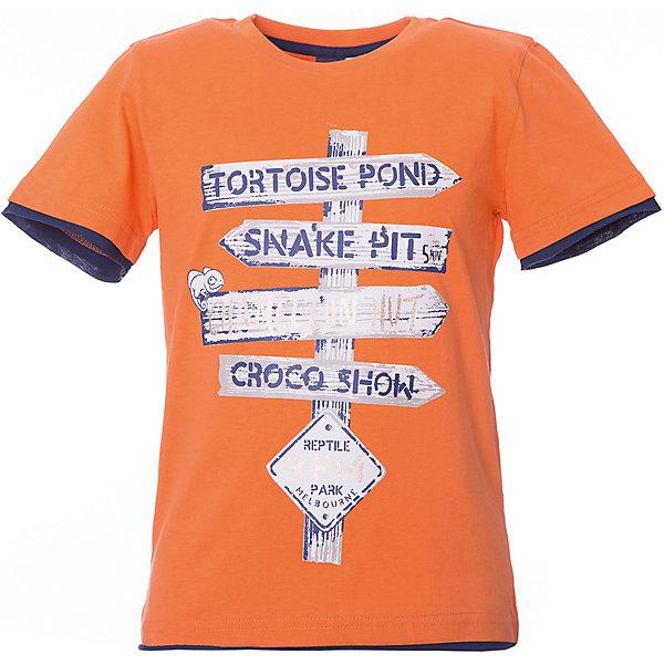 Футболка iDO для мальчикаФутболки, поло и топы<br>Характеристики товара:<br><br>• цвет: оранжевый<br>• состав ткани: 95% хлопок, 5% синтетическое волокно<br>• сезон: лето<br>• застежка: кнопки<br>• короткие рукава<br>• страна бренда: Италия<br><br>Модная футболка для мальчика сделана из дышащего натурального хлопка, гипоаллергенного и мягкого. Хлопковая детская футболка отличается оригинальной отделкой. Эта футболка для ребенка - от известного итальянского бренда iDO, который известен высоким качеством и европейским стилем выпускаемой одежды для детей. <br><br>Футболку iDO (АйДу) для мальчика можно купить в нашем интернет-магазине.<br>Ширина мм: 199; Глубина мм: 10; Высота мм: 161; Вес г: 151; Цвет: оранжевый; Возраст от месяцев: 18; Возраст до месяцев: 24; Пол: Мужской; Возраст: Детский; Размер: 92,122,116,110,104,98; SKU: 7589771;