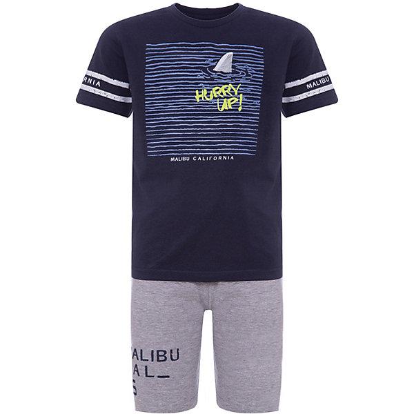 iDO Комплект: футболка, шорты iDO для мальчика комплект футболка шорты tom tailor комплект футболка шорты