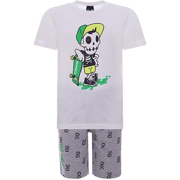 Купить Комплект: футболка, шорты iDO для мальчика, Китай, белый, 92, 122, 116, 110, 104, 98, Мужской