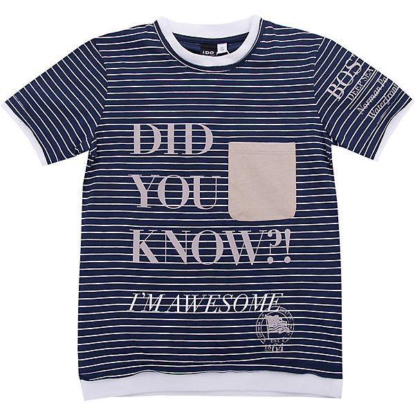 Футболка iDO для мальчикаФутболки, поло и топы<br>Характеристики товара:<br><br>• цвет: голубой<br>• состав ткани: 95% хлопок, 5% синтетическое волокно<br>• сезон: лето<br>• короткие рукава<br>• страна бренда: Италия<br><br>Хлопковая футболка для ребенка от популярного бренда iDO отличается высоким качеством материала и обработки швов. Эта футболка для мальчика сделана из дышащего гипоаллергенного хлопка. Такая детская футболка отличается стильным дизайном.<br><br>Футболку iDO (АйДу) для мальчика можно купить в нашем интернет-магазине.<br>Ширина мм: 199; Глубина мм: 10; Высота мм: 161; Вес г: 151; Цвет: голубой; Возраст от месяцев: 84; Возраст до месяцев: 96; Пол: Мужской; Возраст: Детский; Размер: 128,170,164,152,140; SKU: 7590346;