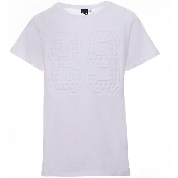 Футболка iDO для мальчикаФутболки, поло и топы<br>Характеристики товара:<br><br>• цвет: белый<br>• состав ткани: 95% хлопок, 5% синтетическое волокно<br>• сезон: лето<br>• короткие рукава<br>• страна бренда: Италия<br><br>Модная футболка для ребенка от популярного бренда iDO отличается высоким качеством материала и обработки швов. Эта футболка для мальчика сделана из дышащего гипоаллергенного хлопка. Такая детская футболка отличается стильным дизайном.<br><br>Футболку iDO (АйДу) для мальчика можно купить в нашем интернет-магазине.<br>Ширина мм: 199; Глубина мм: 10; Высота мм: 161; Вес г: 151; Цвет: белый; Возраст от месяцев: 84; Возраст до месяцев: 96; Пол: Мужской; Возраст: Детский; Размер: 128,170,164,152,140; SKU: 7590364;