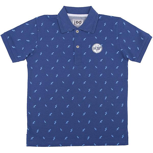 Футболка-поло iDO для мальчикаФутболки, поло и топы<br>Характеристики товара:<br><br>• цвет: голубой<br>• состав ткани: 100% хлопок<br>• сезон: лето<br>• короткие рукава<br>• страна бренда: Италия<br><br>Детская футболка-поло с коротким рукавом отличается стильным дизайном. Эта футболка-поло для ребенка - от известного итальянского бренда iDO, который известен высоким качеством и европейским стилем выпускаемой одежды для детей. Футболка-поло для мальчика поможет создать удобный и модный наряд.<br><br>Футболку-поло iDO (АйДу) для мальчика можно купить в нашем интернет-магазине.<br>Ширина мм: 199; Глубина мм: 10; Высота мм: 161; Вес г: 151; Цвет: голубой; Возраст от месяцев: 84; Возраст до месяцев: 96; Пол: Мужской; Возраст: Детский; Размер: 128,170,164,152,140; SKU: 7590400;