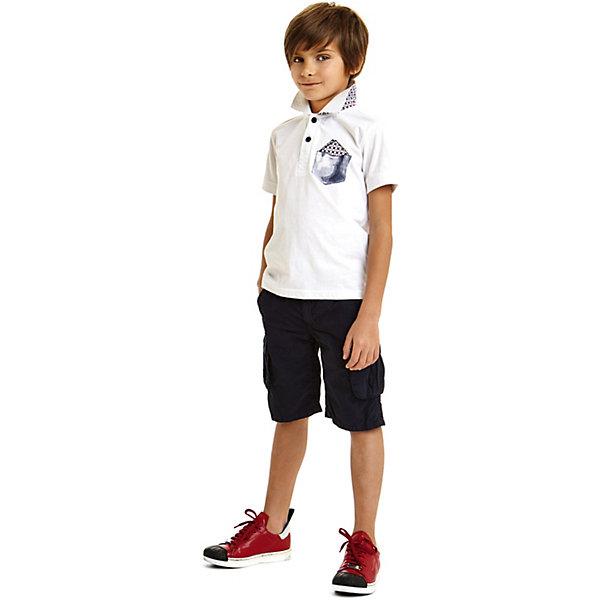 Брюки iDO для мальчикаШорты, бриджи, капри<br>Характеристики товара:<br><br>• цвет: синий<br>• состав ткани: 100% хлопок<br>• сезон: лето<br>• застежка: пуговица<br>• шлевки<br>• страна бренда: Италия<br><br>Легкие детские шорты отличаются прямым силуэтом и наличием шлевок. Шорты для ребенка созданы дизайнерами известного итальянского бренда iDO. Шорты для мальчика выполнены из качественного материала. <br><br>Шорты iDO (АйДу) для мальчика можно купить в нашем интернет-магазине.<br>Ширина мм: 215; Глубина мм: 88; Высота мм: 191; Вес г: 336; Цвет: темно-синий; Возраст от месяцев: 84; Возраст до месяцев: 96; Пол: Мужской; Возраст: Детский; Размер: 128,170,164,158,152,146,140,134; SKU: 7590444;