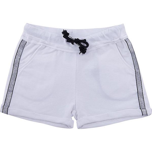 Шорты iDO для девочкиШорты, бриджи, капри<br>Характеристики товара:<br><br>• цвет: белый<br>• состав ткани: 100% хлопок<br>• сезон: лето<br>• особенности модели: спортивный стиль<br>• талия: резинка, шнурок<br>• страна бренда: Италия<br><br>Спортивные детские шорты - отличный вариант базовой одежды на теплое время года. Шорты для ребенка созданы дизайнерами известного итальянского бренда iDO. Шорты для девочки выполнены из качественного материала. <br><br>Шорты iDO (АйДу) для девочки можно купить в нашем интернет-магазине.<br>Ширина мм: 191; Глубина мм: 10; Высота мм: 175; Вес г: 273; Цвет: белый; Возраст от месяцев: 84; Возраст до месяцев: 96; Пол: Женский; Возраст: Детский; Размер: 128,170,164,152,140; SKU: 7590566;
