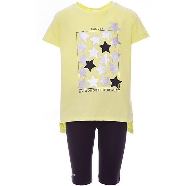 iDO Комплект: футболка, шорты iDO для девочки стоимость