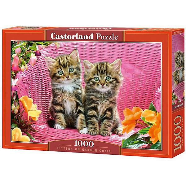 Castorland Пазл Castorland Котята на стуле 1000 деталей castorland пазл цветы 1000 деталей castorland