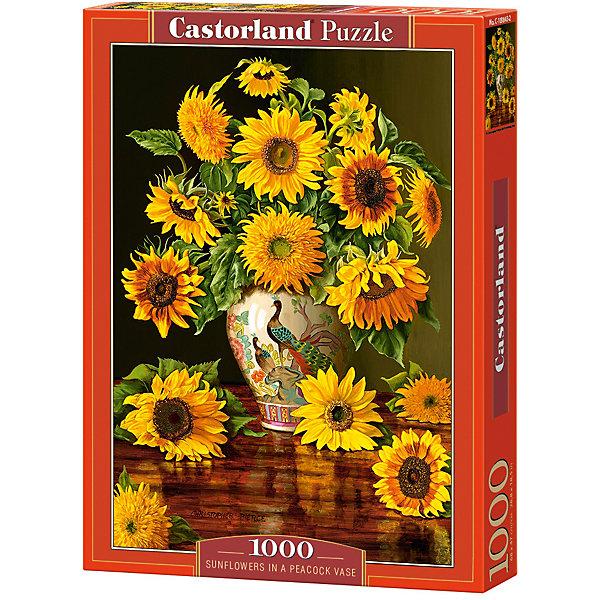 Пазл Castorland Подсолнухи в вазе 1000 деталейПазлы классические<br>Характеристики товара:<br><br>• возраст: от 9 лет;<br>• количество деталей: 1000 шт;<br>• материал: картон;<br>• размер упаковки: 35х25х5,2 см;<br>• размер картины: 68х47 см;<br>• вес упаковки: 500 гр.;<br>• страна производитель: Польша.<br><br>Пазл Castorland (Касторлэнд) Подсолнухи в вазе – это отличный способ увлекательно провести досуг, снять стресс и развить моторику.<br><br>Качество этих пазлов подтверждено миллионами любителей сборки пазлов. Пазлы Castorland собираются легко. Каждая деталь имеет индивидуальную форму и легко соединяется с другой, поэтому у Вас обязательно получится ожидаемый результат - картина собранная собственными руками.<br><br>Пазл Castorland (Касторлэнд) Подсолнухи в вазе можно купить в нашем интернет-магазине.