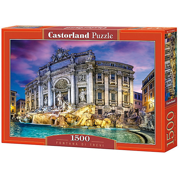 Castorland Пазл Castorland Фонтан Треви 1500 деталей цена