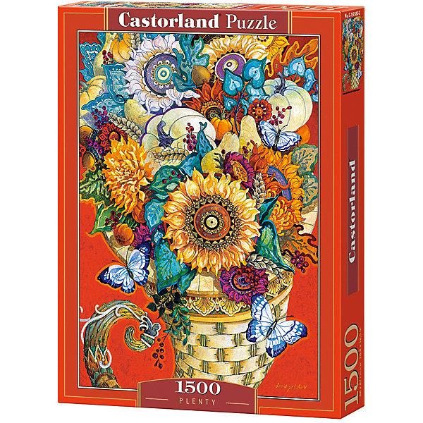 Castorland Пазл Castorland Живопись, Цветы 1500 деталей castorland пазл единорог