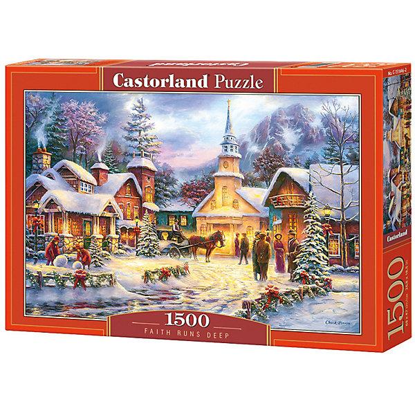 Castorland Пазл Castorland Праздник Рождества 1500 деталей цена
