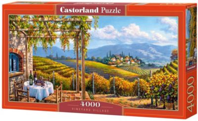 Пазл Castorland  Виноградник  4000 деталей, артикул:7591016 - Пазлы