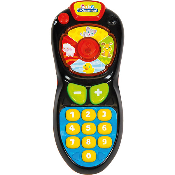 Clementoni Музыкальная игрушка Clementoni Пульт пластмассовые clementoni вертолет и аэролодка