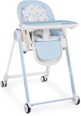 Стульчик для кормления Happy Baby Berny, голубой, артикул:7620018 - Кормление малыша