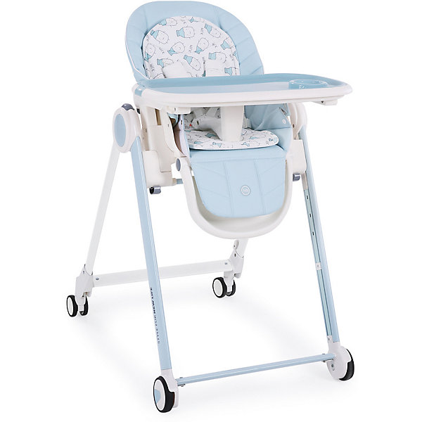 Happy Baby Стульчик для кормления Berny, голубой