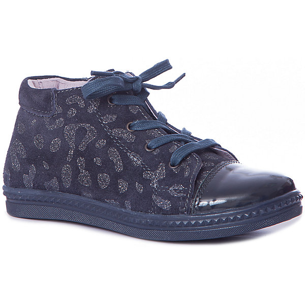 Купить Ботинки Котофей для девочки, Россия, синий, Женский