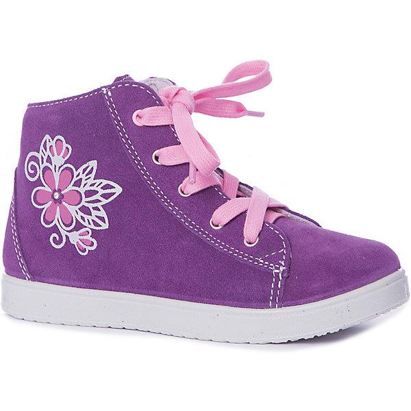 Купить Ботинки Котофей для девочки, Россия, фиолетовый, Женский