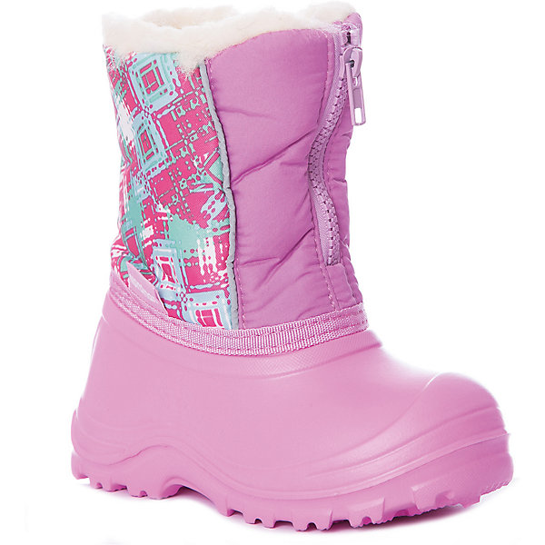 Купить Сноубутсы Nordman для девочки, Россия, розовый, Женский