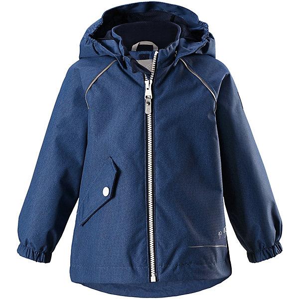 Куртка Forest Reimatec® Reima для мальчикаОдежда<br>Характеристики товара:<br><br>• цвет: синий;<br>• состав: 100% полиамид, полиуретановое покрытие;<br>• подкладка: 100% полиэстер;<br>• без дополнительного утепления;<br>• сезон: демисезон;<br>• температурный режим: от +5° до +15°С;<br>• водонепроницаемость: 15000 мм;<br>• воздухопроницаемость: 7000 мм;<br>• износостойкость: 40000 циклов (тест Мартиндейла);<br>• застёжка: молния с защитой подбородка;<br>• водо- и ветронепроницаемый, «дышащий» и грязеотталкивающий материал;<br>• водо- и грязеотталкивающая пропитка без содержания фторуглеродов BIONIC-FINISH®ECO;<br>• все швы проклеены и водонепроницаемы;<br>• гладкая подкладка из полиэстера;<br>• безопасный, съёмный капюшон;<br>• эластичные манжеты на рукавах;<br>• регулируемый подол;<br>• карман на кнопке;<br>• светоотражающие детали;<br>• страна бренда: Финляндия.<br><br>Куртка Reimatec® станет отличным выбором на весну и осень. Все швы в этой куртке герметично запаяны, а сама она сшита из водо- и ветронепроницаемой и к тому же грязеотталкивающей ткани. Съемный капюшон обеспечит безопасность на прогулке, а регулируемый подол поможет подогнать куртку по фигуре. А в небольших карманах все найденные драгоценные камешки и шишки будут в целости и сохранности.<br><br>Куртку Reima от финского бренда Reima (Рейма) можно купить в нашем интернет-магазине.<br>Ширина мм: 356; Глубина мм: 10; Высота мм: 245; Вес г: 519; Цвет: синий; Возраст от месяцев: 24; Возраст до месяцев: 36; Пол: Мужской; Возраст: Детский; Размер: 98,80,92,86; SKU: 7628288;