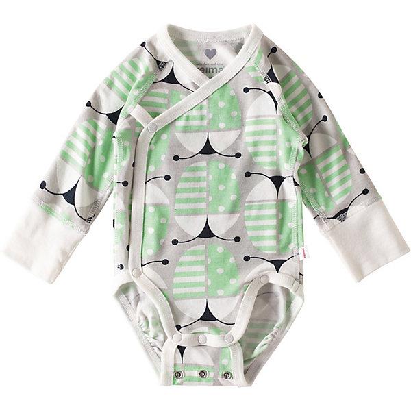 Купить Боди Reima Ruoko, Индонезия, зеленый, 50, 74, 62, Мужской