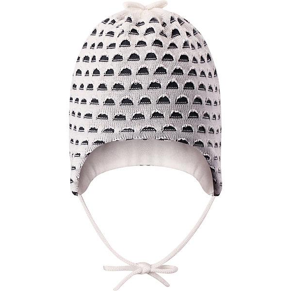 Шапка Tiainen ReimaШапки и шарфы<br>Характеристики товара:<br><br>• цвет: белый;<br>• состав: 50% лиоцелл, 50% хлопок;<br>• подкладка: хлопковый трикотаж;<br>• без дополнительного утепления;<br>• сезон: демисезон;<br>• температурный режим: от +5 до +15С;<br>• застёжка: шапка на завязках;<br>• сплошная подкладка: хлопчатобумажная ткань;<br>• декоративный узор;<br>• страна бренда: Финляндия.<br><br>Разве одежда для новорожденных может быть слишком мягкой Эта очаровательная шапочка сшита из простого в уходе и шелковистого на ощупь материала. Мы смешали хлопок с экологичным волокном тенсель и получили натуральный материал, который стал воплощением самой мягкости. Полная подкладка из хлопкового трикотажа обеспечивает комфорт нежной детской коже, завязки не дают шапке спадать.<br><br>Шапку Reima от финского бренда Reima (Рейма) можно купить в нашем интернет-магазине.<br>Ширина мм: 89; Глубина мм: 117; Высота мм: 44; Вес г: 155; Цвет: белый; Возраст от месяцев: 3; Возраст до месяцев: 6; Пол: Унисекс; Возраст: Детский; Размер: 36,48,44,40; SKU: 7628749;