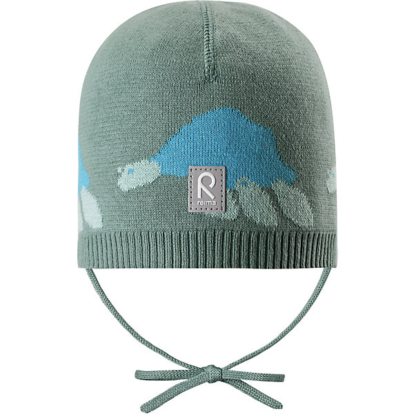 Шапка Kuohu ReimaШапки и шарфы<br>Характеристики товара:<br><br>• цвет: зелёный;<br>• состав: 100% хлопок;<br>• без подкладки;<br>• без дополнительного утепления;<br>• сезон: демисезон;<br>• температурный режим: от +5 до +15С;<br>• застёжка: шапка на завязках;<br>• товар сертифицирован Oeko-Tex;<br>• лёгкий стиль, без подкладки;<br>• хлопчатобумажная ткань;<br>• жаккардовая вязка;<br>• светоотражающие элементы;<br>• страна бренда: Финляндия.<br><br>Шапка из эластичного и удобного хлопкового трикотажа для малышей. Эта шапка представляет собой облегченную модель без подкладки, поэтому идеально подойдет для прохладных летних вечеров. Симпатичный рисунок отлично сочетается с расцветками курток и комбинезонов этого сезона! Шапка сертифицирована по стандарту Oeko-tex.<br><br>Шапку Reima от финского бренда Reima (Рейма) можно купить в нашем интернет-магазине.<br>Ширина мм: 89; Глубина мм: 117; Высота мм: 44; Вес г: 155; Цвет: зеленый; Возраст от месяцев: 9; Возраст до месяцев: 12; Пол: Унисекс; Возраст: Детский; Размер: 44,52,48; SKU: 7628812;