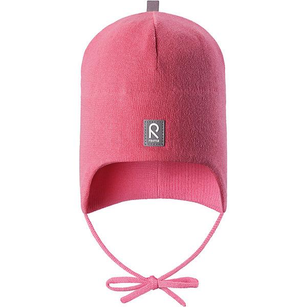Шапка Kivi Reima для девочкиШапки и шарфы<br>Характеристики товара:<br><br>• цвет: розовый;<br>• состав: 100% хлопок;<br>• подкладка: хлопковый трикотаж;<br>• без дополнительного утепления;<br>• сезон: демисезон;<br>• температурный режим: от +5 до +15С;<br>• застёжка: шапка на завязках;<br>• специальный материал обеспечивает дополнительный комфорт;<br>• ветронепроницаемые вставки в области ушей;<br>• товар сертифицирован Oeko-Tex;<br>• частичная подкладка: хлопчатобумажная ткань;<br>• светоотражающие элементы;<br>• страна бренда: Финляндия.<br><br>Эта шапка для малышей надежно согреет голову ребенка в ветреную весеннюю погоду. Она сшита из эластичного хлопкового трикотажа и снабжена ветронепроницаемыми вставками в области ушей. Шапка сертифицирована по стандарту Oeko-tex.<br><br>Шапку Reima от финского бренда Reima (Рейма) можно купить в нашем интернет-магазине.<br>Ширина мм: 89; Глубина мм: 117; Высота мм: 44; Вес г: 155; Цвет: розовый; Возраст от месяцев: 9; Возраст до месяцев: 12; Пол: Женский; Возраст: Детский; Размер: 44,52,48; SKU: 7628828;
