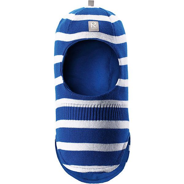 Шапка Honka Reima для мальчикаШапки и шарфы<br>Характеристики товара:<br><br>• цвет: синий;<br>• состав: 100% хлопок;<br>• подкладка: хлопковый трикотаж;<br>• без дополнительного утепления;<br>• сезон: демисезон;<br>• температурный режим: от +5 до +15С;<br>• без застёжки<br>• хлопчатобумажная ткань;<br>• сплошная подкладка: гладкий хлопковый трикотаж;<br>• товар сертифицирован Oeko-Tex;<br>• сплошная подкладка: хлопчатобумажная ткань;<br>• светоотражающие элементы;<br>• страна бренда: Финляндия.<br><br>Классическая детская шапка-шлем – незаменимый аксессуар, ведь она согревает не только голову, но и шею. Эта шапка-шлем сшита из эластичного и дышащего хлопкового трикотажа на подкладке из гладкого хлопкового джерси. Изделие сертифицировано по стандарту Oeko-Tex.<br><br>Шапку Reima от финского бренда Reima (Рейма) можно купить в нашем интернет-магазине.<br>Ширина мм: 89; Глубина мм: 117; Высота мм: 44; Вес г: 155; Цвет: синий; Возраст от месяцев: 12; Возраст до месяцев: 18; Пол: Унисекс; Возраст: Детский; Размер: 46,52,50,48; SKU: 7628867;