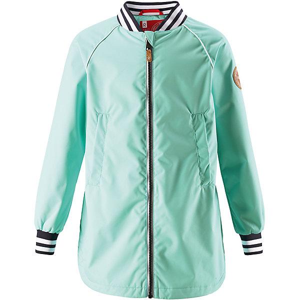 Куртка Asteri Reima для девочкиОдежда<br>Характеристики товара:<br><br>• цвет: зелёный;<br>• состав: 100% полиамид, полиуретановое покрытие;<br>• подкладка: 100% полиэстер;<br>• без дополнительного утепления;<br>• сезон: демисезон;<br>• температурный режим: от +5° до +15°С;<br>• водонепроницаемость: 8000 мм;<br>• воздухопроницаемость: 7000 мм;<br>• износостойкость: 30000 циклов (тест Мартиндейла);<br>• застёжка: молния с защитой подбородка;<br>• водо- и ветронепроницаемый, «дышащий» и грязеотталкивающий материал;<br>• водо- и грязеотталкивающая пропитка без содержания фторуглеродов BIONIC-FINISH®ECO;<br>• гладкая подкладка из полиэстера;<br>• регулируемый воротник;<br>• эластичные манжеты;<br>• эластичный пояс сзади;<br>• карман со специальными креплениями для сенсора ReimaGO® в моделях 104 размера и более;<br>• два боковых кармана;<br>• светоотражающие детали;<br>• страна бренда: Финляндия.<br><br>Новая детская куртка для города. Она не только стильно смотрится, но еще и сшита из водо- и ветронепроницаемого, дышащего и грязеотталкивающего материала. А за счет эластичного пояса на спинке она отлично сидит по фигуре. Дизайн модели довершают полосатый воротник и манжеты на резинке!<br><br>Куртку Reima от финского бренда Reima (Рейма) можно купить в нашем интернет-магазине.<br>Ширина мм: 356; Глубина мм: 10; Высота мм: 245; Вес г: 519; Цвет: зеленый; Возраст от месяцев: 108; Возраст до месяцев: 120; Пол: Женский; Возраст: Детский; Размер: 140,128,122,116,110,104,134,164,158,152,146; SKU: 7632554;
