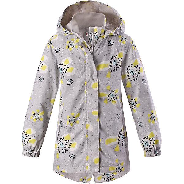 Куртка Aava Reimatec® Reima для мальчикаОдежда<br>Характеристики товара:<br><br>• цвет: серый;<br>• состав: 100% полиамид, полиуретановое покрытие;<br>• подкладка: 100% полиэстер;<br>• без дополнительного утепления;<br>• сезон: демисезон;<br>• температурный режим: от +5° до +15°С;<br>• водонепроницаемость: 5000 мм;<br>• воздухопроницаемость: 4000 мм;<br>• износостойкость: 15000 циклов (тест Мартиндейла);<br>• застёжка: молния с защитой подбородка;<br>• водо- и ветронепроницаемый, «дышащий» и грязеотталкивающий материал;<br>• основные швы проклеены и водонепроницаемы;<br>• гладкая подкладка из полиэстера;<br>• безопасный, съёмный капюшон;<br>• эластичные манжеты на рукавах;<br>• внутренняя регулировка обхвата талии;<br>• карман со специальными креплениями для сенсора ReimaGO® в моделях 104 размера и более;<br>• два боковых кармана;<br>• светоотражающие детали;<br>• страна бренда: Финляндия.<br><br>Все основные швы в этой демисезонной детской куртке Reimatec® герметично запаяны, а сама она сшита из водо- и ветронепроницаемого, грязеотталкивающего, но при этом дышащего материала. Безопасный съемный капюшон легко отстегивается, если случайно за что-нибудь зацепится. За счет эластичных манжет и регулируемой талии она будет отлично сидеть по фигуре. Новые красивые рисунки!<br><br>Куртку Reima от финского бренда Reima (Рейма) можно купить в нашем интернет-магазине.<br>Ширина мм: 356; Глубина мм: 10; Высота мм: 245; Вес г: 519; Цвет: серый; Возраст от месяцев: 132; Возраст до месяцев: 144; Пол: Мужской; Возраст: Детский; Размер: 152,146,140,134,128,122,116,110,104,98,92; SKU: 7632650;