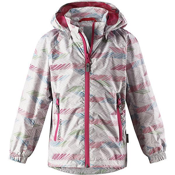 Купить Демисезонная куртка Reima Zigzag Reimatec, Китай, серый, 98, 140, 92, 104, 110, 116, 122, 128, 134, Женский