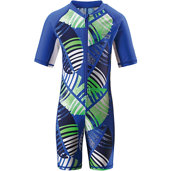 Купальный костюм Galapagos Reima для мальчикаКупальники и плавки<br>Характеристики товара:<br><br>• цвет: синий принт;<br>• состав: 80% Полиамид, 20% эластан;<br>• сезон: лето;<br>• застёжка: молния с защитой подбородка;<br>• купальный комбинезон для малышей SunProof;<br>• рукава до локтей и штанины до колен;<br>• фактор защиты от ультрафиолета 50+;<br>• Reima SunProof®;<br>• полуавтоматическая застежка на молнии, защищающая от случайного открытия;<br>• принт по всей поверхности;<br>• страна бренда: Финляндия.<br><br>Этот цельный купальный костюм сделает принятие солнечных ванн безопасными. Купальный костюм для детей из материала SunProof предназначен как для веселых плесканий в воде, так и для игр на пляже. Купальный костюм обеспечивает эффективную защиту от вредных солнечных лучей вплоть до локтей и колен благодаря УФ-фильтру 50+. Еще этот эластичный материал быстро сохнет, а молния спереди облегчает процесс одевания.<br><br>Купальный костюм Reima от финского бренда Reima (Рейма) можно купить в нашем интернет-магазине.<br>Ширина мм: 183; Глубина мм: 60; Высота мм: 135; Вес г: 119; Цвет: синий; Возраст от месяцев: 18; Возраст до месяцев: 24; Пол: Мужской; Возраст: Детский; Размер: 92,128,140,134,122,116,110,104,98; SKU: 7633352;