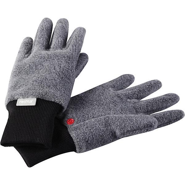 Перчатки Osk ReimaПерчатки<br>Характеристики товара:<br><br>• цвет: серый;<br>• состав: 100% полиэстер;<br>• без подкладки;<br>• без дополнительного утепления;<br>• сезон: демисезон;<br>• температурный режим: от +5 до +15С<br>• выводят влагу наружу;<br>• дышащий, теплый и быстросохнущий флис;<br>• кнопки, чтобы пристегивать перчатки друг у другу на время хранения;<br>• легкий стиль, без подкладки;<br>• эластичный кант на манжетах;<br>• страна бренда: Финляндия.<br><br>Мягкие и удобные детские перчатки из флиса. Теплый, дышащий и быстросохнущий флисовый материал отводит влагу в верхние слои. Облегченная модель без подкладки превосходно подойдет для поддевания под непромокаемые варежки в морозную погоду. Удобная резинка. Снабжены кнопкой и пристегиваются друг к другу для хранения.<br><br>Перчатки Reima от финского бренда Reima (Рейма) можно купить в нашем интернет-магазине.<br>Ширина мм: 162; Глубина мм: 171; Высота мм: 55; Вес г: 119; Цвет: серый; Возраст от месяцев: 24; Возраст до месяцев: 48; Пол: Унисекс; Возраст: Детский; Размер: 3,7,5; SKU: 7633486;