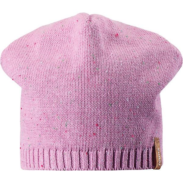 Шапка Reima BubbleШапки и шарфы<br>Характеристики товара:<br><br>• состав: 100% хлопок;<br>• без подкладки;<br>• без дополнительного утепления;<br>• сезон: демисезон;<br>• температурный режим: от +5 до +15С;<br>• застёжка: шапка на завязках;<br>• хлопчатобумажная ткань;<br>• завязки в размерах 44/46 и 48/50;<br>• лёгкий стиль, без подкладки;<br>• декоративная структура поверхности;<br>• светоотражающие элементы;<br>• страна бренда: Финляндия.<br><br>Легкая трикотажная шапка из хлопка без подкладки – идеальный вариант на  ветреную погоду. Завязки имеются только в размерах 44/46 и 48/50.