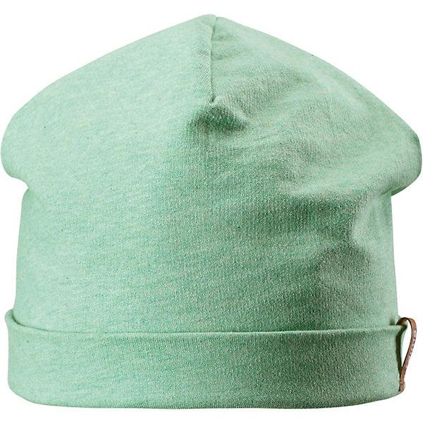 Шапка Liuku ReimaШапки и шарфы<br>Характеристики товара:<br><br>• цвет: зелёный;<br>• состав: 100% хлопок;<br>• без подкладки;<br>• без дополнительного утепления;<br>• сезон: демисезон;<br>• температурный режим: от +5 до +15С;<br>• без застёжки;<br>• мягкий и теплый материал с внутренней стороны для максимального комфорта;<br>• специальный материал обеспечивает дополнительный комфорт<br>• лёгкая ткань, без вставок;<br>• светоотражающие элементы;<br>• страна бренда: Финляндия.<br><br>Мягкая и удобная детская шапка сшита из дышащего и быстросохнущего трикотажа. А чудесные цвета отлично сочетаются с коллекцией верхней одежды Reima.<br><br>Шапку Reima от финского бренда Reima (Рейма) можно купить в нашем интернет-магазине.<br>Ширина мм: 89; Глубина мм: 117; Высота мм: 44; Вес г: 155; Цвет: зеленый; Возраст от месяцев: 18; Возраст до месяцев: 24; Пол: Унисекс; Возраст: Детский; Размер: 48,56,52; SKU: 7633698;