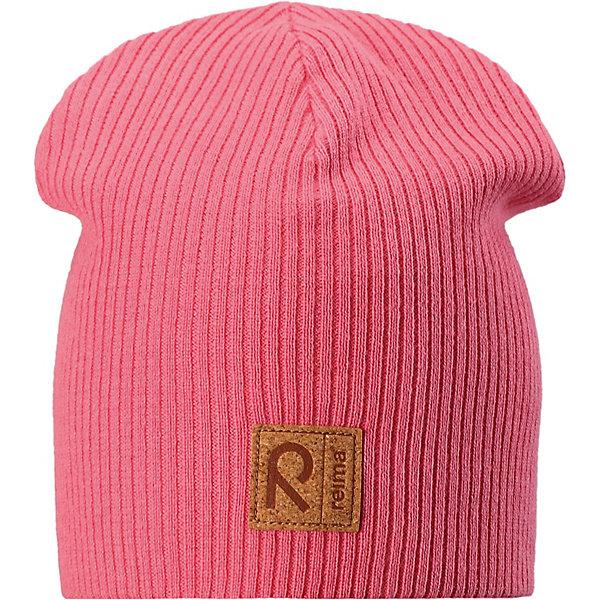 Шапка Lahti ReimaШапки и шарфы<br>Характеристики товара:<br><br>• цвет: розовый;<br>• состав: 100% хлопок;<br>• подкладка: хлопковый трикотаж;<br>• без дополнительного утепления;<br>• сезон: демисезон;<br>• температурный режим: от +5 до +15С;<br>• застёжка: шапка на завязках;<br>• хлопчатобумажная ткань;<br>• завязки в размерах 44/46 и 48/50;<br>• ветронепроницаемые вставки в области ушей;<br>• сплошная подкладка: хлопчатобумажная ткань;<br>• светоотражающие элементы;<br>• страна бренда: Финляндия.<br><br>Эта шапка для детей надежно согреет голову ребенка в ветреную весеннюю погоду. Шапка, как и ее подкладка, сшита из эластичного хлопкового трикотажа и снабжена ветронепроницаемыми вставками в области ушей. Завязки в размерах 44/46 и 48/50. <br><br>Шапку Reima от финского бренда Reima (Рейма) можно купить в нашем интернет-магазине.<br>Ширина мм: 89; Глубина мм: 117; Высота мм: 44; Вес г: 155; Цвет: розовый; Возраст от месяцев: 9; Возраст до месяцев: 12; Пол: Унисекс; Возраст: Детский; Размер: 44,56,52,48; SKU: 7633805;