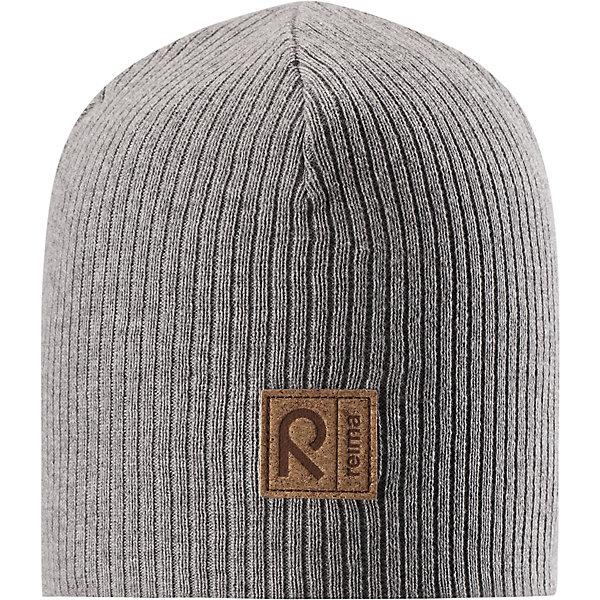 Шапка Lahti ReimaШапки и шарфы<br>Характеристики товара:<br><br>• цвет: серый;<br>• состав: 100% хлопок;<br>• подкладка: хлопковый трикотаж;<br>• без дополнительного утепления;<br>• сезон: демисезон;<br>• температурный режим: от +5 до +15С;<br>• застёжка: шапка на завязках;<br>• хлопчатобумажная ткань;<br>• завязки в размерах 44/46 и 48/50;<br>• ветронепроницаемые вставки в области ушей;<br>• сплошная подкладка: хлопчатобумажная ткань;<br>• светоотражающие элементы;<br>• страна бренда: Финляндия.<br><br>Эта шапка для детей надежно согреет голову ребенка в ветреную весеннюю погоду. Шапка, как и ее подкладка, сшита из эластичного хлопкового трикотажа и снабжена ветронепроницаемыми вставками в области ушей. Завязки в размерах 44/46 и 48/50. <br><br>Шапку Reima от финского бренда Reima (Рейма) можно купить в нашем интернет-магазине.<br>Ширина мм: 89; Глубина мм: 117; Высота мм: 44; Вес г: 155; Цвет: серый; Возраст от месяцев: 18; Возраст до месяцев: 24; Пол: Унисекс; Возраст: Детский; Размер: 48,44,56,52; SKU: 7633825;